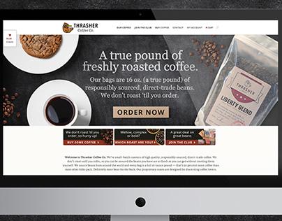 Thrasher Coffee Co. Website