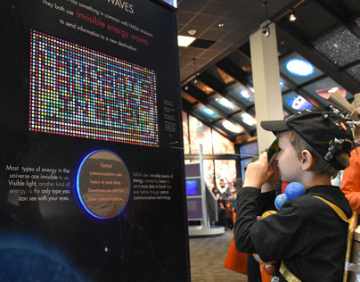 NASA- SCaN Decade of Light Exhibit