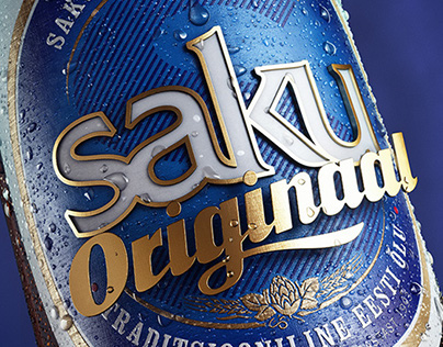 Saku Originaal Beer Beauty Renders
