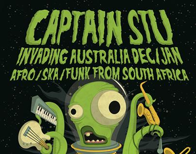 Captain Stu Tour Poster