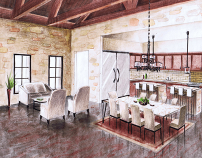 Kitchen Design Renderings