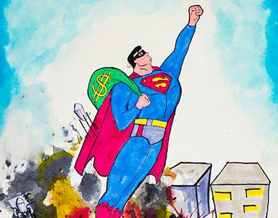SuperMan Man Of Steel Thief