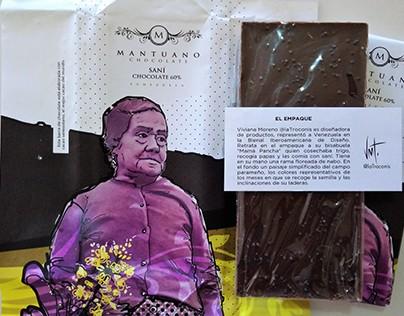 Ilustración. Empaque Mantuano Chocolate.