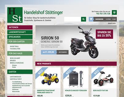 Screendesign Handelshof Stöttinger