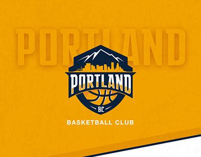 Portland Basketball Club · Branding