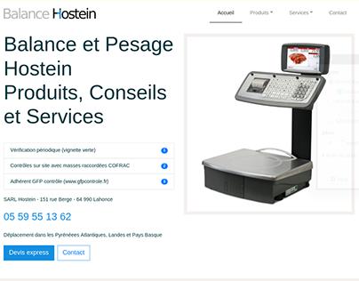 Enterprise website for a local client