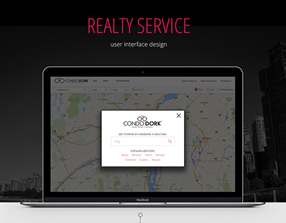 Realty service site