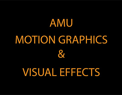 Amu Motion graphics