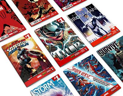Marvel Comics & Company Logos