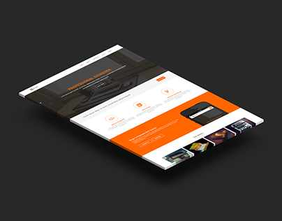 Diego: Responsive Corporate Template