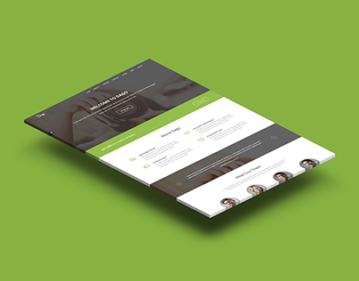 Dago - One Page Corporate Template