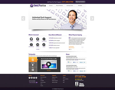 Tehzilla Web Design