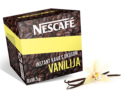 Nescafe packaging