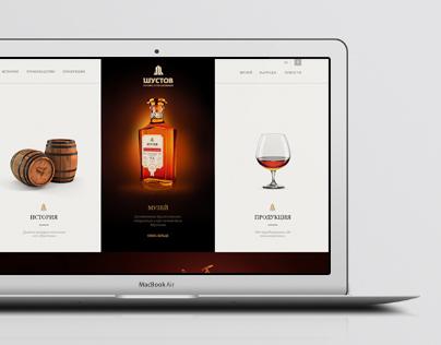 Shustov / Website