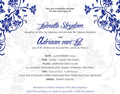 Wedding Invites & Save-the-date designs