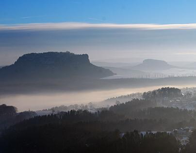 Sächsische Schweiz .|. Saxon Switzerland