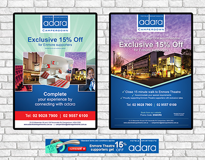 Adara Identity Design and Promotional Materials