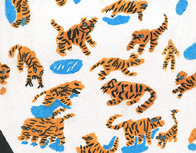 Dolphins and tigers(MyNd №5)
