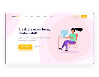 Educational Startup - Landing Page Design