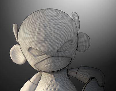 Inspired by Kevin ( xf4ll3n ) munny model.