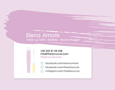 Logo Make-up and Beauty Blog - TheElenuccia