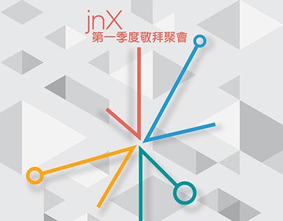jnX Poster Design