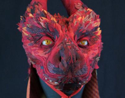 Masks: Bestia (Red)