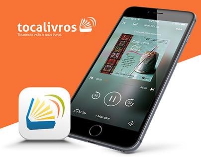 TocaLivros - Mobile App Audiobooks