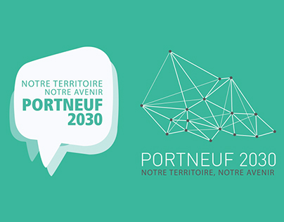 Portneuf 2030 - Logotype