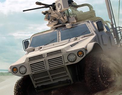 Military CG Vehicle Renders