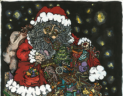 The Santa Show Christmas Card