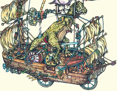 Dinosaur Wedding