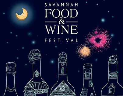 Savannah Food and Wine Festival 2014 official poster