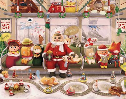 Christmas on the Lazy Express! : Xmas 2018