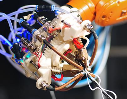 ROBOTIC EXTRUSION(6-Axis KUKA+ABS 3D Printing)