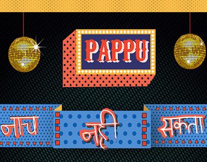 Poster: Pappu can't dance saala