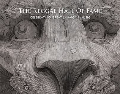 """ The Reggae Hall Of Fame "" poster"