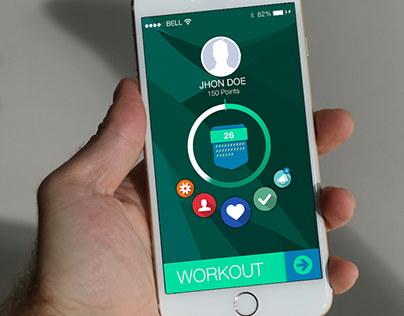 Fitness App for iPhone