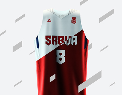 2015 Serbia basketball uniforms