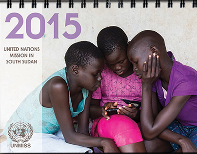 United Nations Mission in South Sudan 2015 Calendar