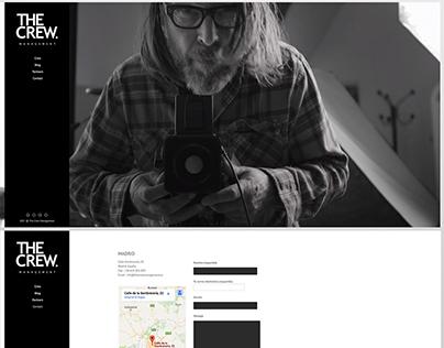 Diseño web The Crew