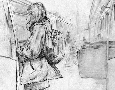 Drawn on transit 2015