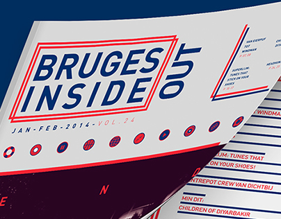 BRUGES INSIDE-OUT: SCHOOL ASSIGNMENT REBRAND