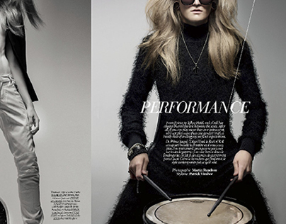 Performance // Dress to Kill Magazine