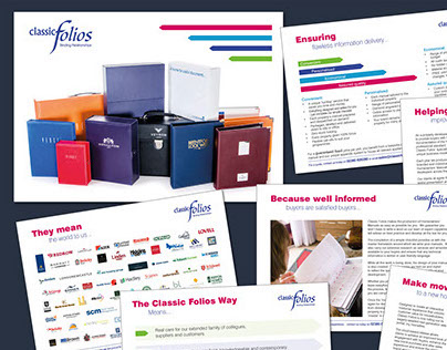 Classic Folios Flyers - including all photography