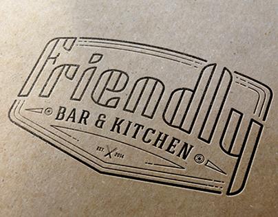 «Friendly Bar&Kitchen» Logo