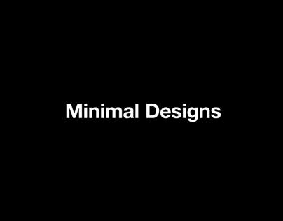 Minimal Designs
