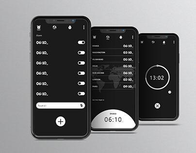 Clock Ui Design