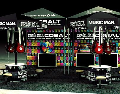 Ernie Ball / Rocksmith Booth