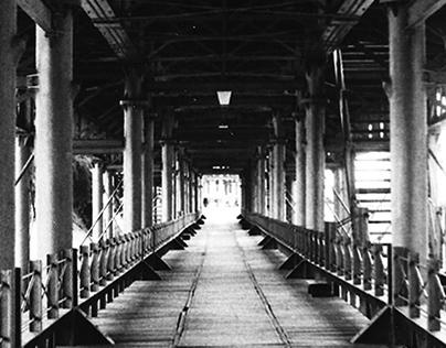 Muelle y vías